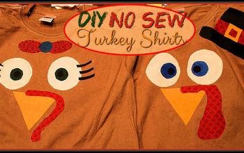 DIY No Sew Turkey Shirt