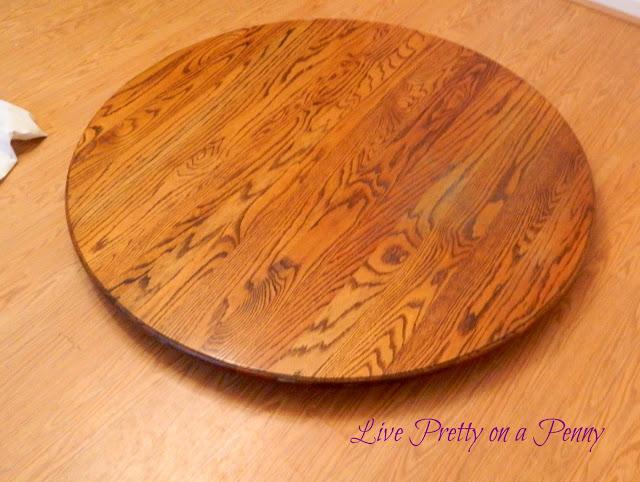 Oak Table Before