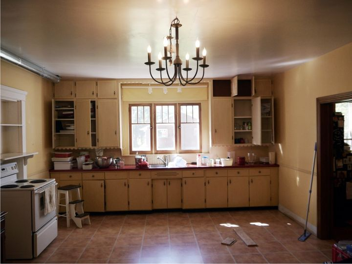 Kitchen Renovation In 1918 Farmhouse Home Decor Backsplash Design Living Before