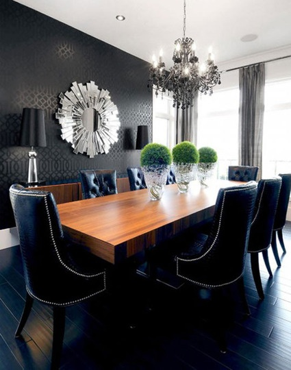 decorate with black, home decor