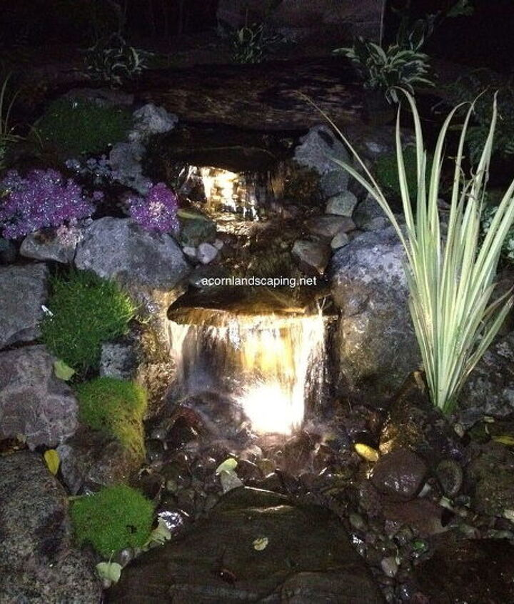 Aquascape Pondless Waterfalls, Rochester NY