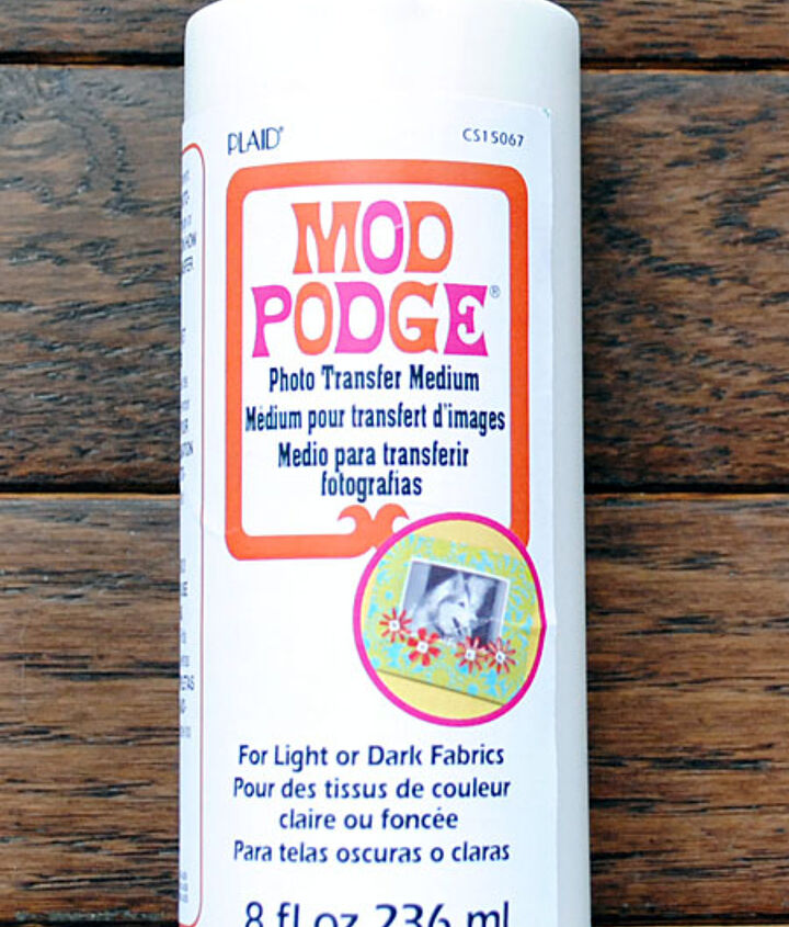 This is the product that I used. It's Mod Podge Transfer Medium.