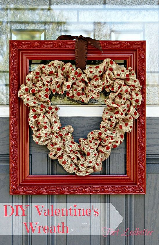 valentine s wreath, crafts, seasonal holiday decor, valentines day ideas, wreaths