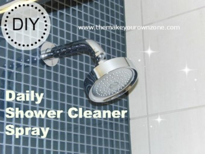 make your own daily shower cleaner spray, bathroom ideas, cleaning tips, You can make your own Daily Shower Cleaner Spray