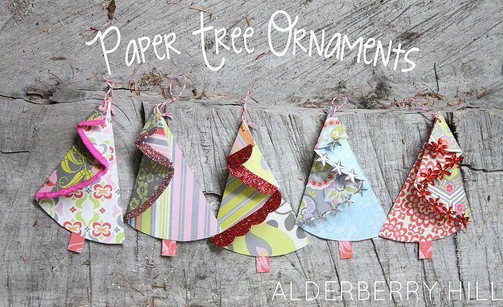 Paper Treee Ornaments Hometalk