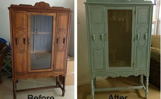 flea market find, painted furniture, Rejuvenated piece I m using it in our master bath as a linen cabinet
