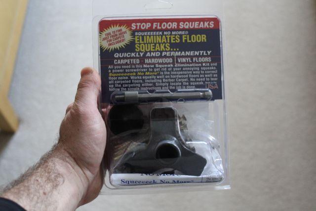 how to fix squeaky floors youtube