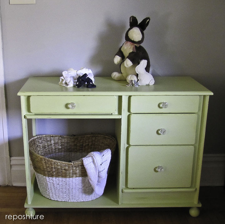 after- the big basket could be filled with diapers, blankets, stuffed animals, books   as an island it could be filled with hand towels or take it away and use the shelf for mixer etc and hang a bar on the side for towel or utensil han