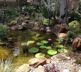 Backyard Pond Ecosystem Ponds Ponds Koi Ponds Waterfalls Pondless  Waterfalls, Outdoor Living, Ponds Water. Beautiful ...