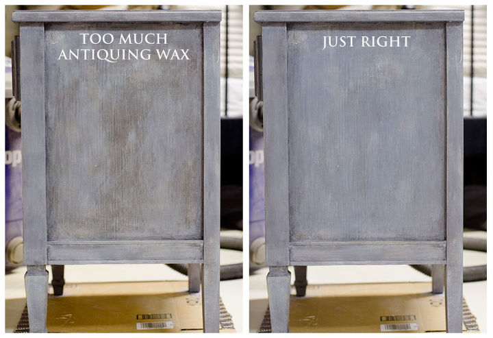 when antiquing goes wrong, painted furniture, Don t give up if you ve  applied - When Antiquing Goes Wrong! Hometalk