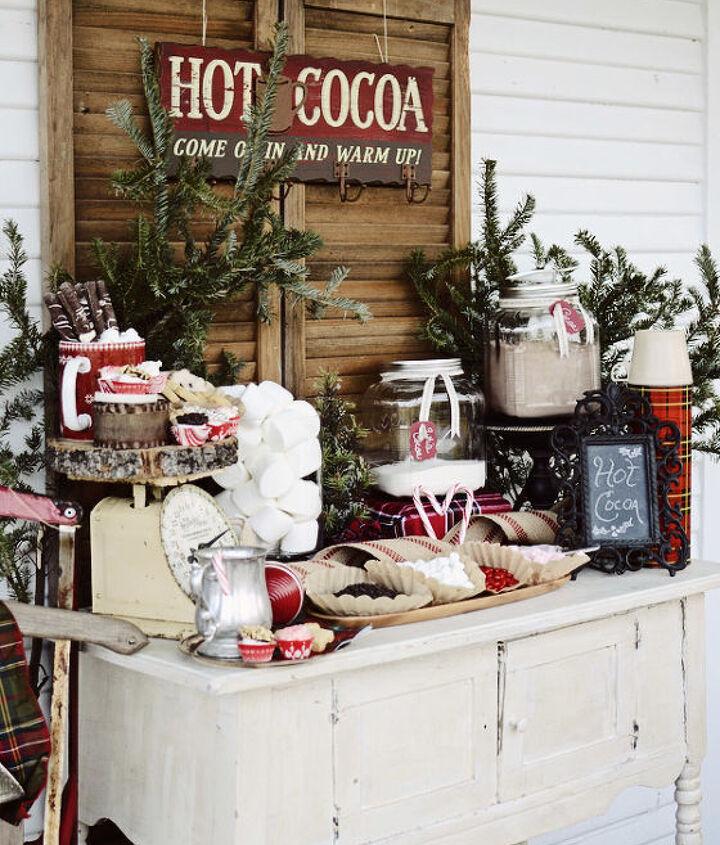 Front Porch Hot Cocoa Bar