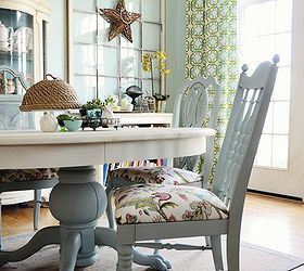 Charming Dining Room Table And Chairs Makeover With Annie Sloan Chalk Paint
