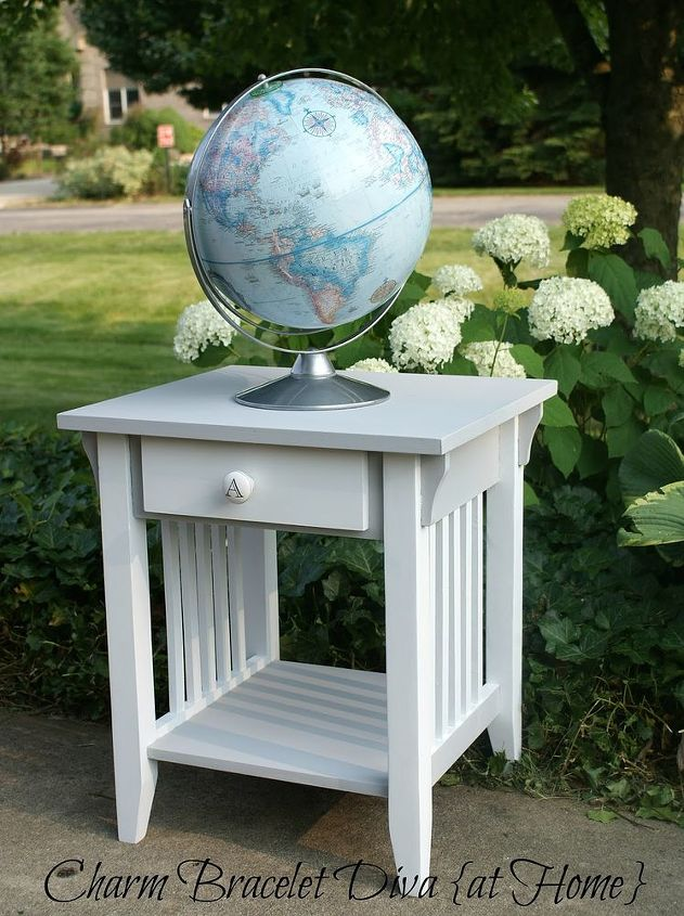 Transform A Traditional Mission Style End Table Easily Inexpensively Chalk Paint Painted Furniture