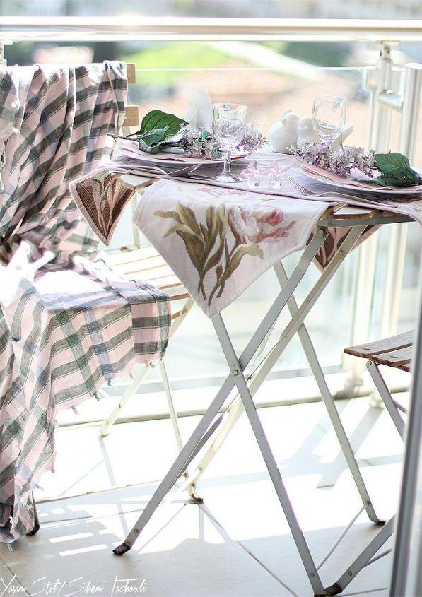 spring table setting, home decor, seasonal holiday decor