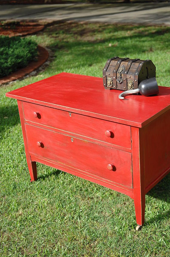 always wanted the perfect red paint i was lucky enough to find my perfect red, painted furniture