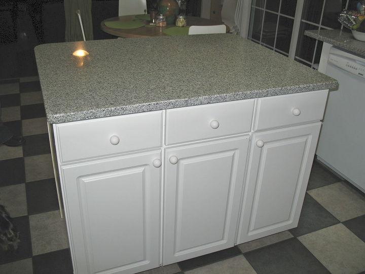 you want your own island make one diy kitchen island hometalk. Black Bedroom Furniture Sets. Home Design Ideas