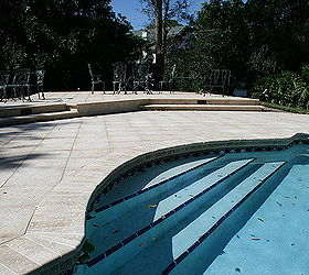 Marvelous Renovating A Pool Deck Without Removing Old Cracked Concrete Deck, Concrete  Masonry, Decks,