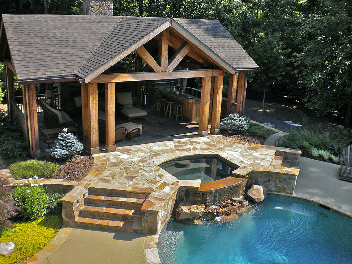 This outdoor living space provides the perfect spot for ... on Ab And Outdoor Living id=51298