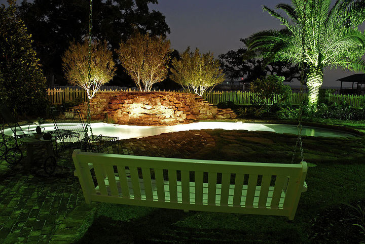 outdoor lighting, decks, electrical, lighting, outdoor living, pool designs