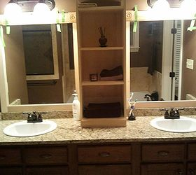 I Used This Idea And Revamped My Large Bathroom Mirror This Weekend Here  Are My,