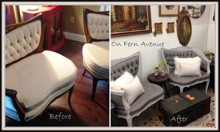 Surprising Painted Fabric French Chairs Hometalk Download Free Architecture Designs Scobabritishbridgeorg