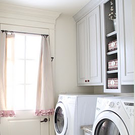 painting my laundry room cabinets grey, laundry room mud room, painting, Laundry Room Painted Cabinets