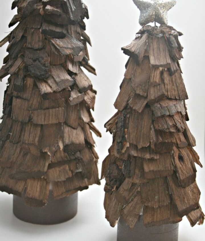 wood chip trees