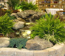 aquascape indoor pondless display at arett sales open house, ponds water features
