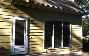 siding amp home improvement, curb appeal, home maintenance repairs, One side completed