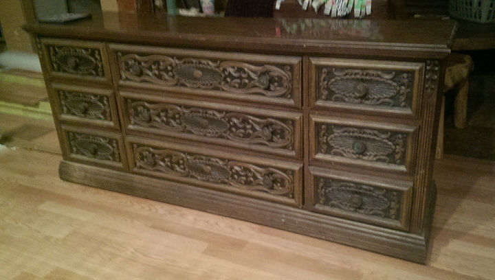 my find, painted furniture