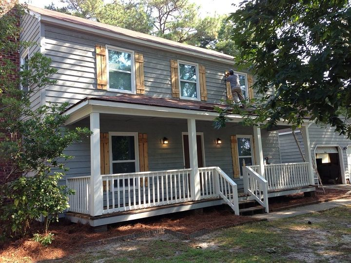 q need color advise for porch area, curb appeal, painting, porches