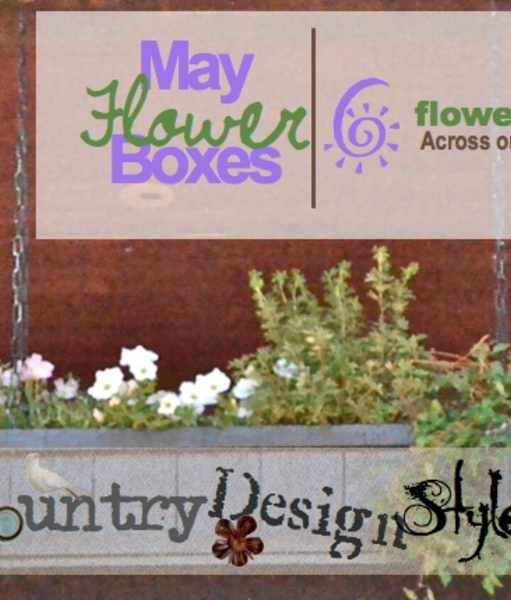 We made and planter 6 flower boxes across our front porch.