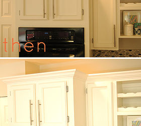 Adding Instant Drama To Kitchen Cabinets, Diy, Home Decor, Kitchen  Cabinets, Kitchen