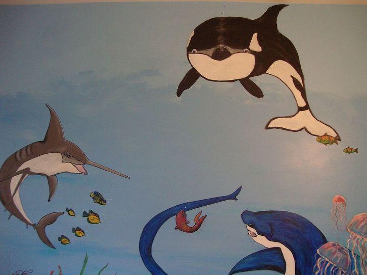 Mr. whale has google eyes. lol
