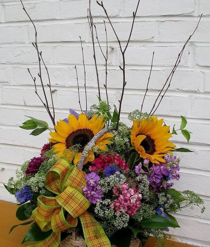 ~Country Flower Basket ~