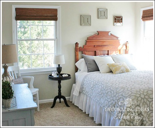Guest bedroom decorating hometalk for How to decorate spare bedroom