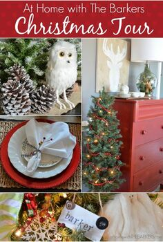 christmas home tour, christmas decorations, dining room ideas, seasonal holiday decor, Although I decorate with red I went with a natural approach in my dining room