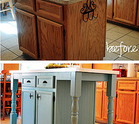 I Redid Our Kitchen Island To Add A Larger Counter Seating Amp Fun Details,  Kitchen