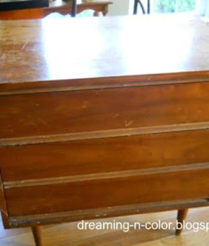 audrey he burn dresser, painted furniture