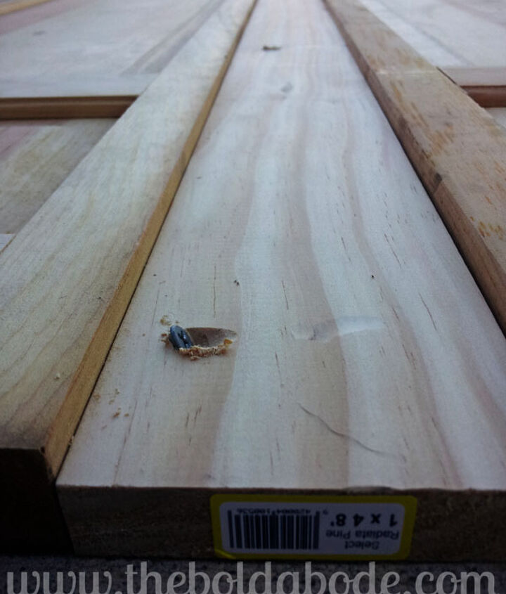 making a headboard out of bi fold doors, doors, repurposing upcycling, woodworking projects