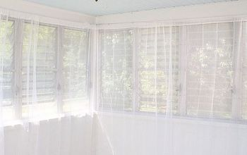 Hanging Curtains With Tension Wire