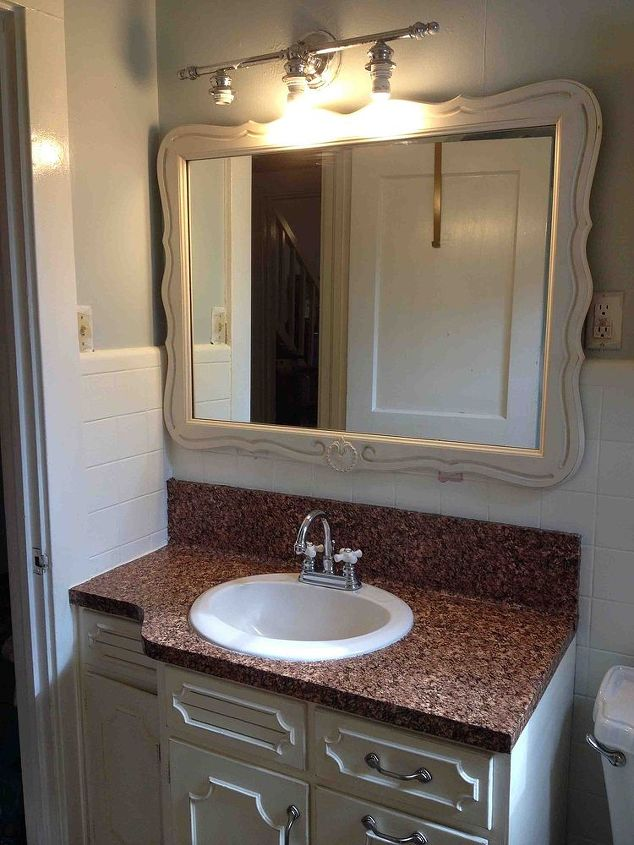 mirror mirror on the wall, bathroom ideas, crafts, repurposing upcycling