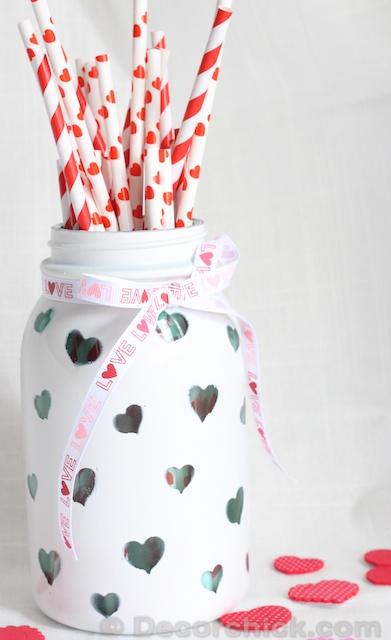 DIY Custom Heart Jar
