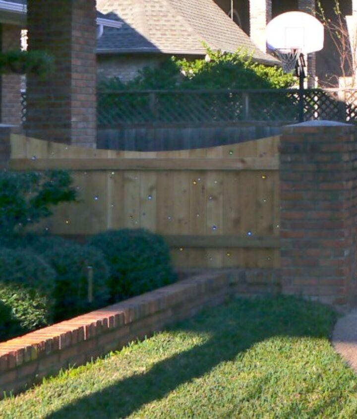 marble fence, fences
