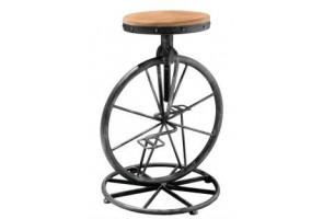extendible iron bar stools, painted furniture