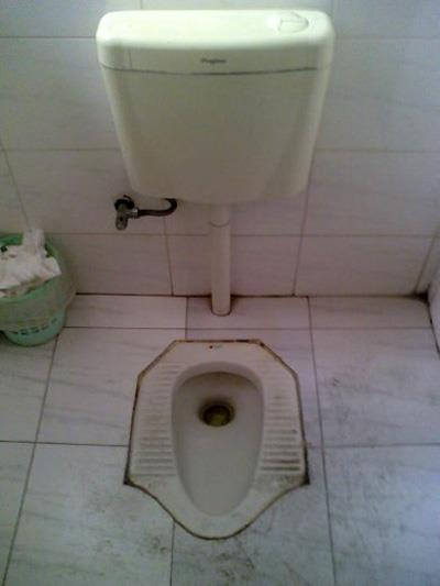OMG, how would you decorate around this plumbing?