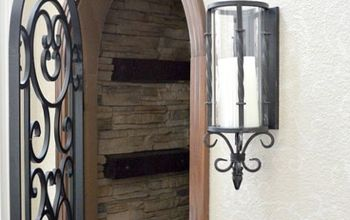 how to install faux stone on a inside wall, concrete masonry, diy, how to, wall decor