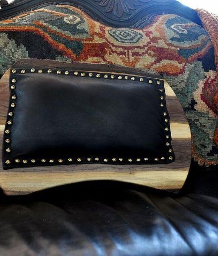 Black Leather back