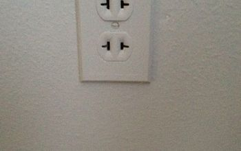just curious do you paint over or remove outlets and switches, painting