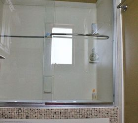 Design Solution For Ugly Tub Front, Bathroom Ideas, Diy, Home Decor, Tiling